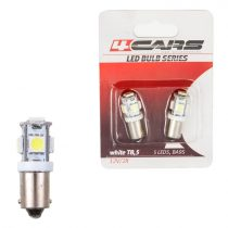 4cars Izzó 5LED 12V 5050SMD T8,5, 2 db
