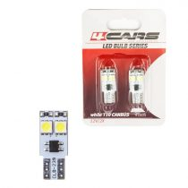 4cars Izzó 4LED 12V CANBUS 5050SMD T10, 2 db