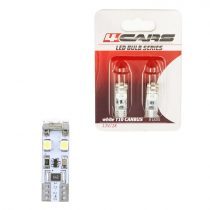 4cars Izzó 8LED 12V CANBUS 3528SMD T10, 2 db