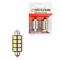 4cars Izzó 8LED 12V FESTOON CANBUS 5050SMD T11x42mm