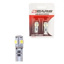 4cars Izzó 5LED 12V CANBUS 5050SMD T10, 2 db